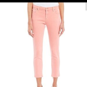 MICHAEL KORS BLUSH CROP JEANS